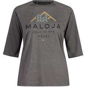 Maloja HimbeereM. 3/4 Sleeve All Mountain Jersey Women, stone
